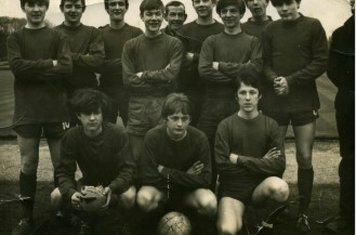 1966 Meadowvale Rangers Back L Hardy M Huffer S Throssell D Pearson Mr Pearson I Korol M Hartshorn K Rose J Thomson G Young (manager) Front A Wheatley P Lambert G Smith (RIP)