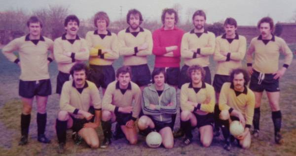 1978 Baldwins United Back Row: T Bugg, P Dexter Unknown T Flint P Barker T Waldron P Wheeler P Gee  Front Row  J Rolfe D Whitehead Unknown K Ford Unknown