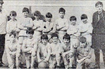 1967/68 Clifton Rangers Back Row: T Geard S Bee A Wright P Jukes  A Salamets P Marchbank  M Widdowson P Wright H Cook (manager) Front Row S Newham K Coward  B Richardson D Geard T Sheffield C Jackson