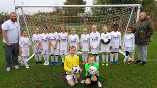 Under 9 Girls Goal Machine Rolls On