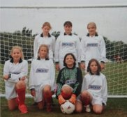 Clifton Ladies first ever football team