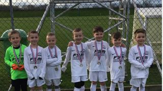 U7's Forest Tournament this morning.