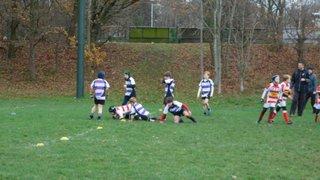 Epping U10 v Woodford RFC