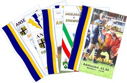 Back Issues of Match Programmes