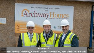 Archway Homes Join Hillyer McKeown As Main Sponsors
