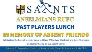 Past Players Tribute to Absent Friends