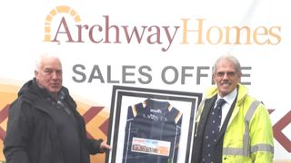 Presentation to Main Sponsor, Archway Homes