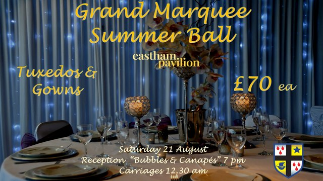 The Grand Marquee Summer Ball, 21 August 2021