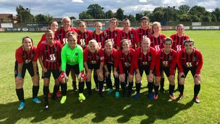 Ladies Draw Clapton Community in the FA Cup.