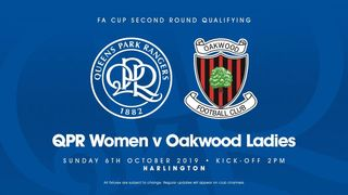Oakwood Ladies draw QPR in the next round of the FA Cup