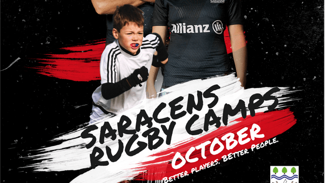 Saracens half term camp coming to Chingford