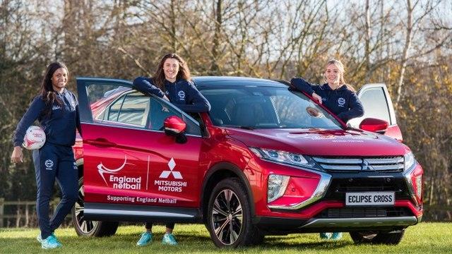 England Netball partners with Mitsubishi Motors