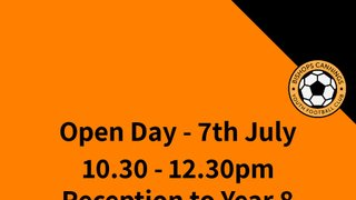 Open Day (10.30pm-12.30pm) Year 6 - Year 8