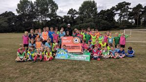Summer Football Camp a Huge Success in Devizes