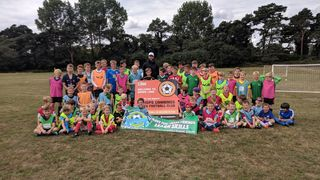 Summer Football Camp a Huge Success in Devizes