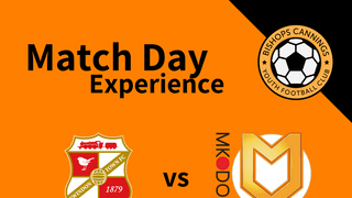 Swindon Town FC Match Day Experience