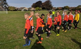U9's Stepping Up To The challenge of Cup Matches