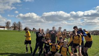 Champagne moment for the under 16s