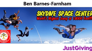 Ben Barnes-Farnham going that extra mile for Charity