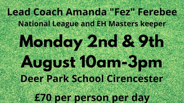 Goalkeeping Summer Camps