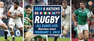 Watch Six Nations rugby live at the BHHC clubhouse