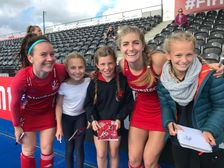 """""""Incredibly exciting and inspiring"""" - BHHC juniors chosen as mascots for international match"""