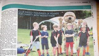 Crowborough HC 'Hockeython' raises £4,000 for charity