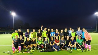 Great turn out for start of women's pre-season training