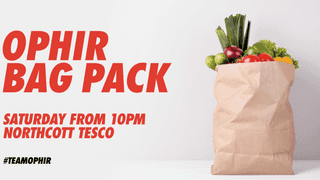 Thanks to everyone who helped at the Tescos Club Promotion and Bagpack!