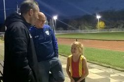 CEO of England Athletics visits Spenborough & District AC