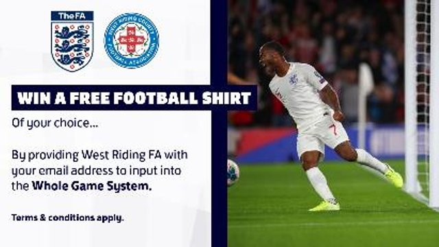 Chance to Win a Free Football Shirt