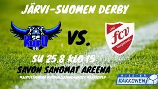 Järvi-Suomen Derby Vaajakoskelle