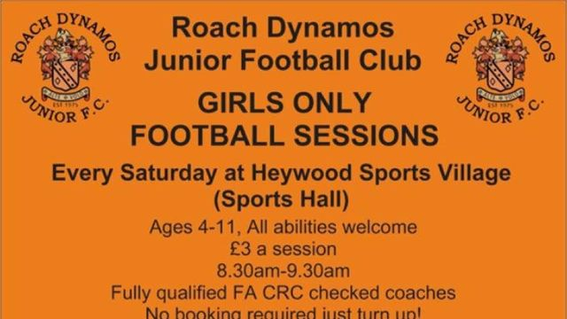 Roach Girls Only Football Team