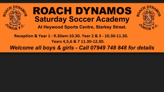 Roach Saturday Soccer Academy
