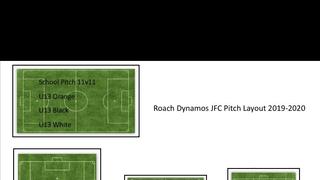 Roach Dynamos JFC Pitch Layout 2019/20