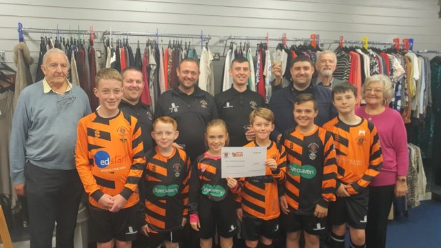 Heywood Children benefit from Roach Charity Donation
