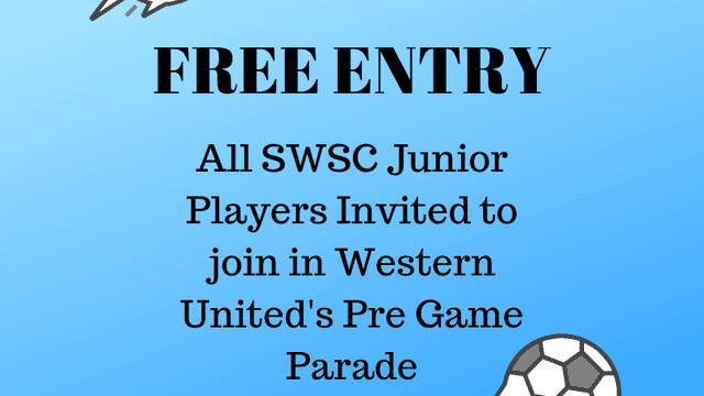 All Junior Players Free to Watch Western United
