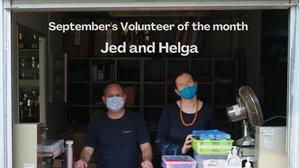September's Volunteer of the month