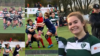 Millie tackles rugby!