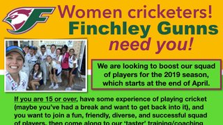 Finchley Gunns taster session 7th April 2019