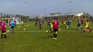 Another Successful Grantham Town FC Academy Trial Day