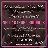 Neil 'Razor' Ruddock Headlines President's Dinner!