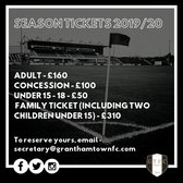 Season Tickets 2019/20