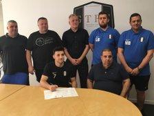 Rodrigo Signs A Contract