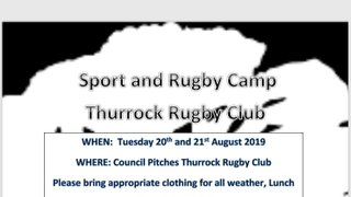 Thurrock Summer Camp Returns