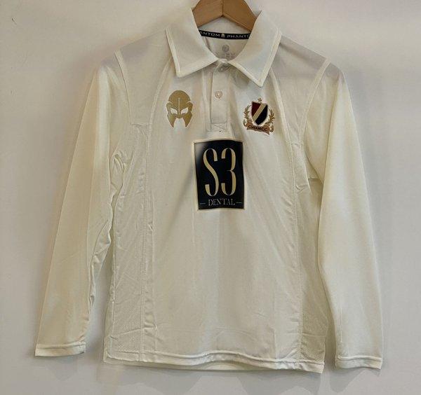 Cheam CC Adult White Shirt (Full Sleeve)