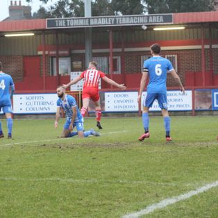 Report: Reds held by Poppies in six goal thriller