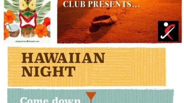 Hawaiian Night at the club