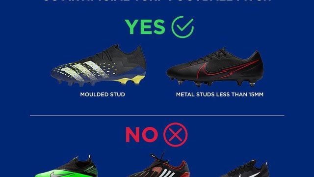 New 3G Footwear requirements