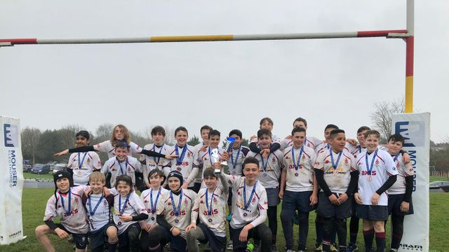 Silverware for both U13 teams on Finals Day